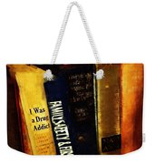I Was A Drug Addict And Other Great Literature Weekender Tote Bag