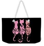 I Was Normal 3 Cats Agog Weekender Tote Bag