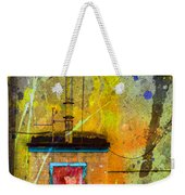 I Wear My Heart On The The Door Weekender Tote Bag
