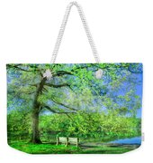 I Will Wait For You In Summer Weekender Tote Bag