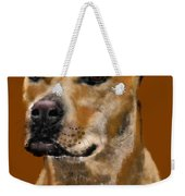 I Wonder What He's Thinking Weekender Tote Bag