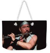 Ian Anderson Of Jethro Tull Weekender Tote Bag