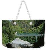 Iao Needle And Creek Weekender Tote Bag