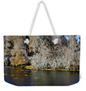 Ibis In Flight Weekender Tote Bag