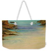 Ibiza In The Distance.... Weekender Tote Bag