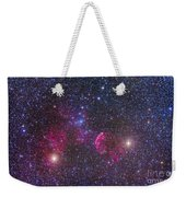 Ic 443 Supernova Remnant In Gemini Weekender Tote Bag