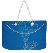 Icarus Airborn Patent Artwork Weekender Tote Bag by Nikki Marie Smith