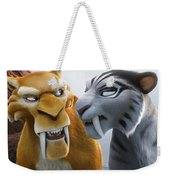 Ice Age Continental Drift Weekender Tote Bag