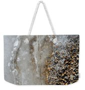 Ice And The Beach  Weekender Tote Bag