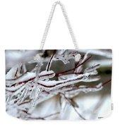 Ice Branches Weekender Tote Bag