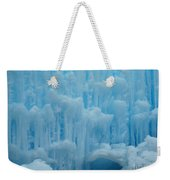 Ice Castles In Lincoln New Hampshire -2 Weekender Tote Bag