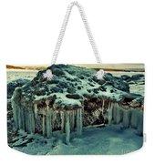 Ice Cave Of Stones Weekender Tote Bag