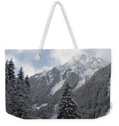 Ice Cold But Beautiul Weekender Tote Bag
