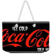 Ice Cold Coke 8 Coca Cola Art Weekender Tote Bag