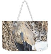Ice Cold Heron Weekender Tote Bag
