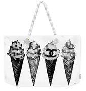 Ice Cream Black ,chanel Weekender Tote Bag