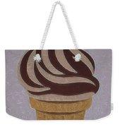 Ice Cream Emoji Weekender Tote Bag