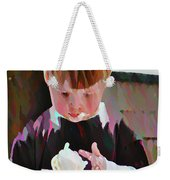 Ice Cream Time Weekender Tote Bag