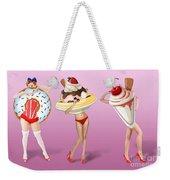 Ice Cream Woman 4 Weekender Tote Bag
