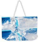 Ice Cubes Weekender Tote Bag by Carlos Caetano