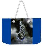 Ice Drop Weekender Tote Bag