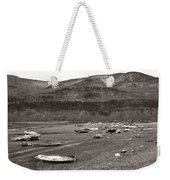 Ice Fields Weekender Tote Bag