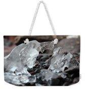 Ice Formations Weekender Tote Bag