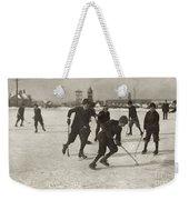 Ice Hockey 1912 Weekender Tote Bag