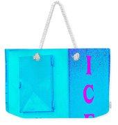 Ice Ice Baby Weekender Tote Bag