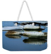 Ice In The Arctic Weekender Tote Bag