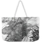 Ice In The Forest  Weekender Tote Bag