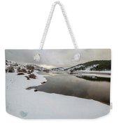 Ice In The River Weekender Tote Bag