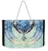 Ice Layered Effect And Framed Weekender Tote Bag