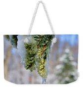 Ice Melt Weekender Tote Bag