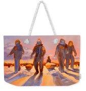 Ice Men Come Home Weekender Tote Bag