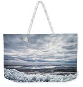 Ice On Lake Nipissing Weekender Tote Bag