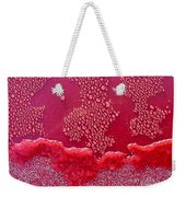 Ice On Red Weekender Tote Bag