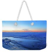 Ice On The Lake Two  Weekender Tote Bag