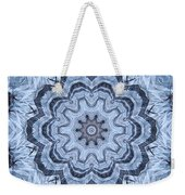Ice Patterns Snowflake Weekender Tote Bag