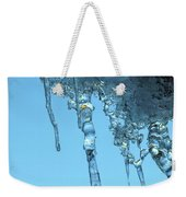 Ice Photo 2 Weekender Tote Bag