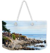 Ice Plant Along The Monterey Shore 2 Weekender Tote Bag