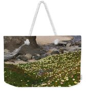 Ice Plants On Moss Beach Weekender Tote Bag