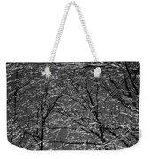 Ice Rain Weekender Tote Bag