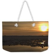 Ice Reflective Nature Weekender Tote Bag