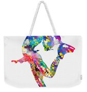 Ice Skater-colorful Weekender Tote Bag