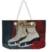 Ice Skates And Mittens Weekender Tote Bag