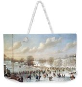 Ice Skating, 1865 Weekender Tote Bag