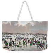 Ice Skating, C1859 Weekender Tote Bag
