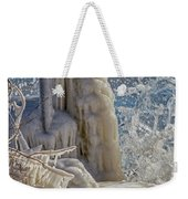 Ice Structures Weekender Tote Bag