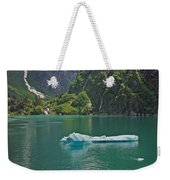 Ice Tracy Arm Alaska Weekender Tote Bag